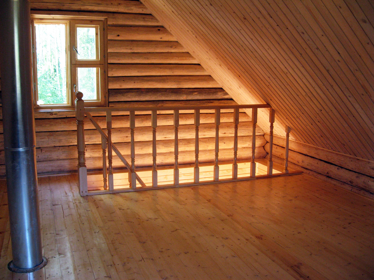 сендвич труба в деревянном доме