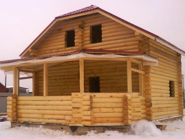 Дом из вологодского сруба