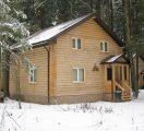 Дом из оцилиндровки 240 мм.