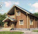 Дом «коренной» из оцилиндровки
